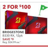 Bridgestone B330 RX - 2/$100.00 ($9.00 off)