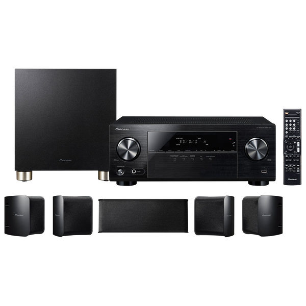 Best Buy Pioneer Htp 074 5 1 Channel 4k Ultra Avr Home Theatre
