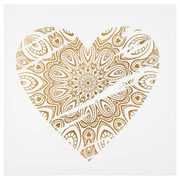 Mandala Heart Printed Canvas - $12.49 ($12.50 Off)