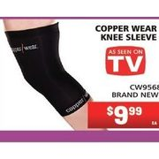 Copper Wear Knee Sleeve - $9.99