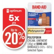 Up to 20% Off Band-Aid Bandages