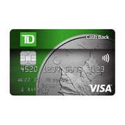 Td Visa Cards >> Td Cash Back Visa Card Earn 25 Cash Back When You Apply