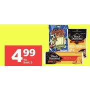 Black Diamond Cheese Bars, Cheestrings Or Shredded Cheese  - $4.99