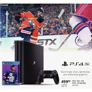 PS4 Pro 1TB NHL 20 Bundle  - $499.99
