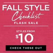 Le Chateau Fall Style Checklist Flash Sale: Styles from $10