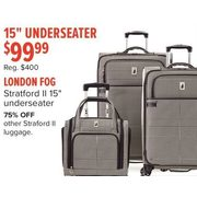 "London Fog Stratford II 15"" Underseater - $99.99"