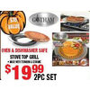 Oven & Dishwasher Safe Stove Top Grill - $19.99