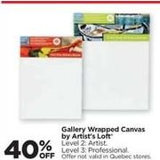 Gallery Wrapped Canvas by Artist's Loft - 40% off