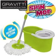 Gravitti Spin Mop with Replacement Head - $19.99
