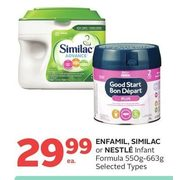 Enfamil, Similac Or Nestle Infant Formula - $29.99