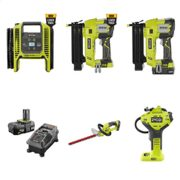 "Home Depot Ryobi Days Event: $99 18V ONE+ 8""Cordless Pole Saw, $88 Cordless Hedge Trimmer, $60 Cordless Inflator/Deflator + More"