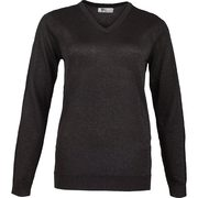 Greg Norman Women's Lurex V-neck Long Sleeve Sweater - $53.50 ($81.50 Off)