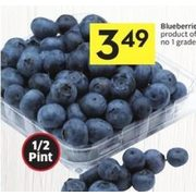 Blueberries - $3.49
