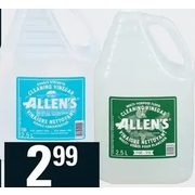 Allen's Cleaning Vinegar Or Floor Cleaner - $2.99