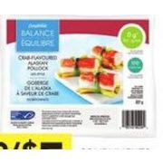 Compliments Balance Imitation Crab or Lobster - 2/$5.00