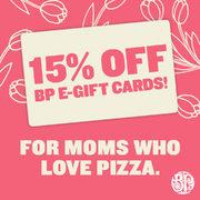 Boston Pizza: Save 15% on Boston Pizza E-Gift Cards for Mother's Day